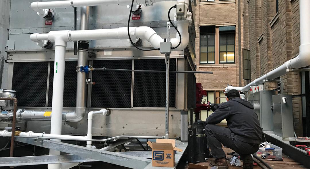 smart release industrial installation